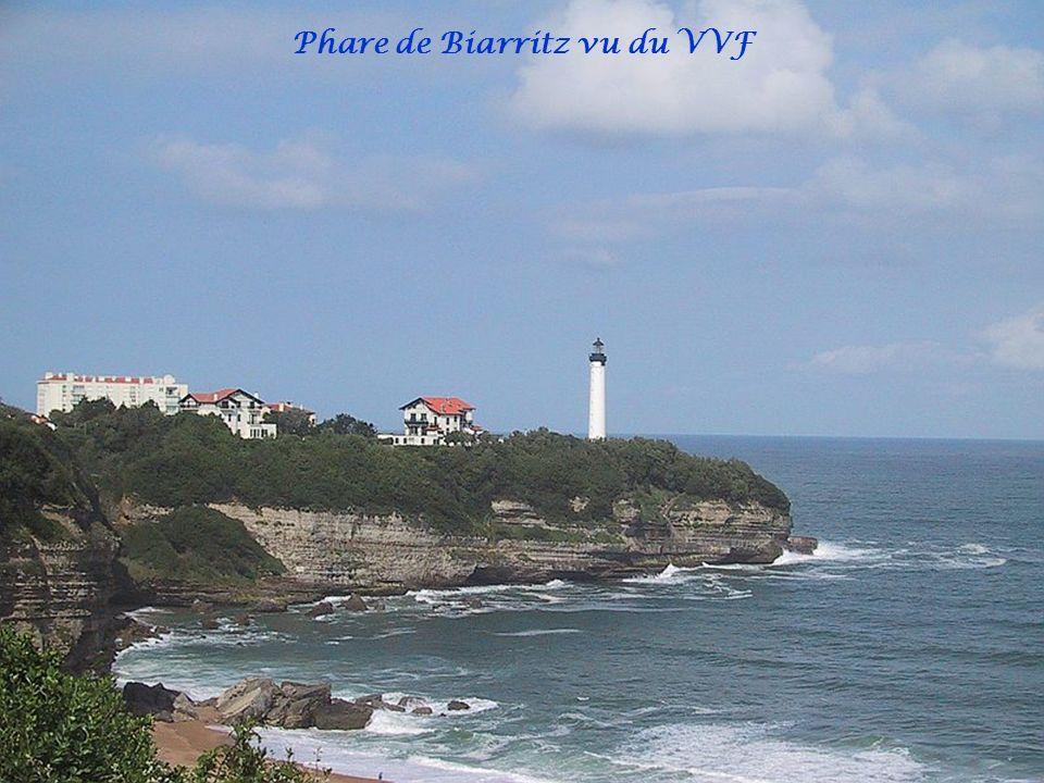 Phare de Biarritz vu du VVF