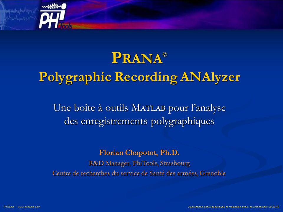 PRANA© Polygraphic Recording ANAlyzer