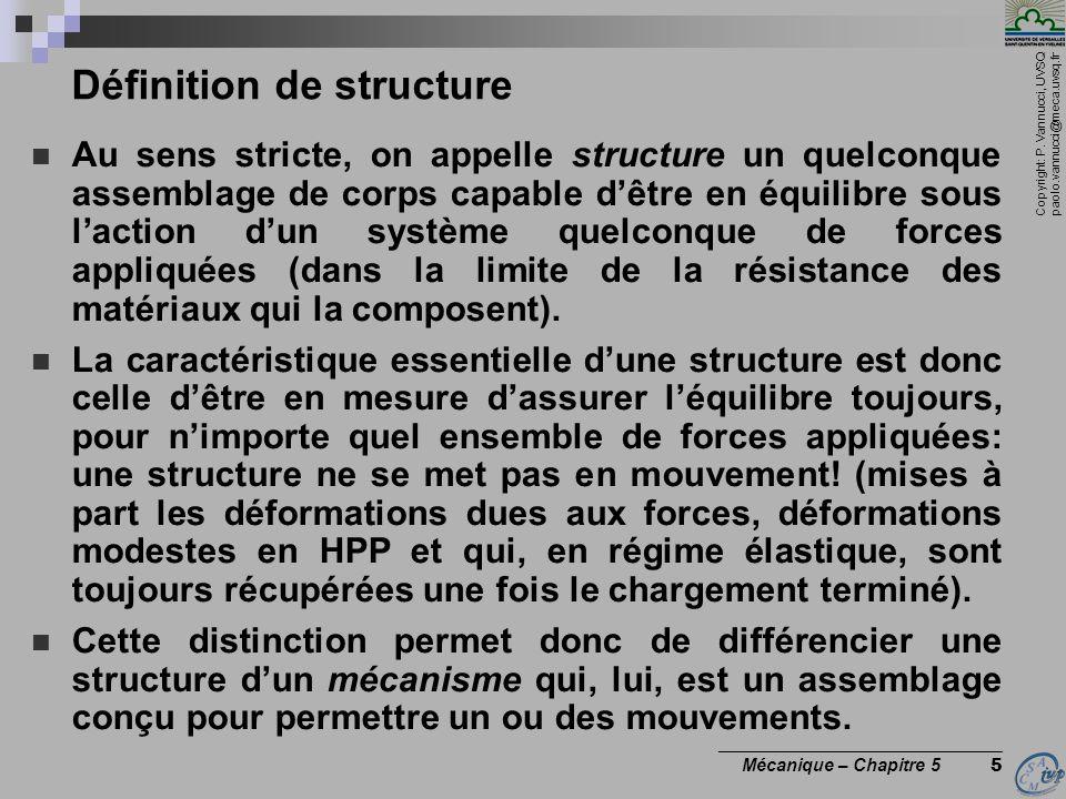 Définition de structure