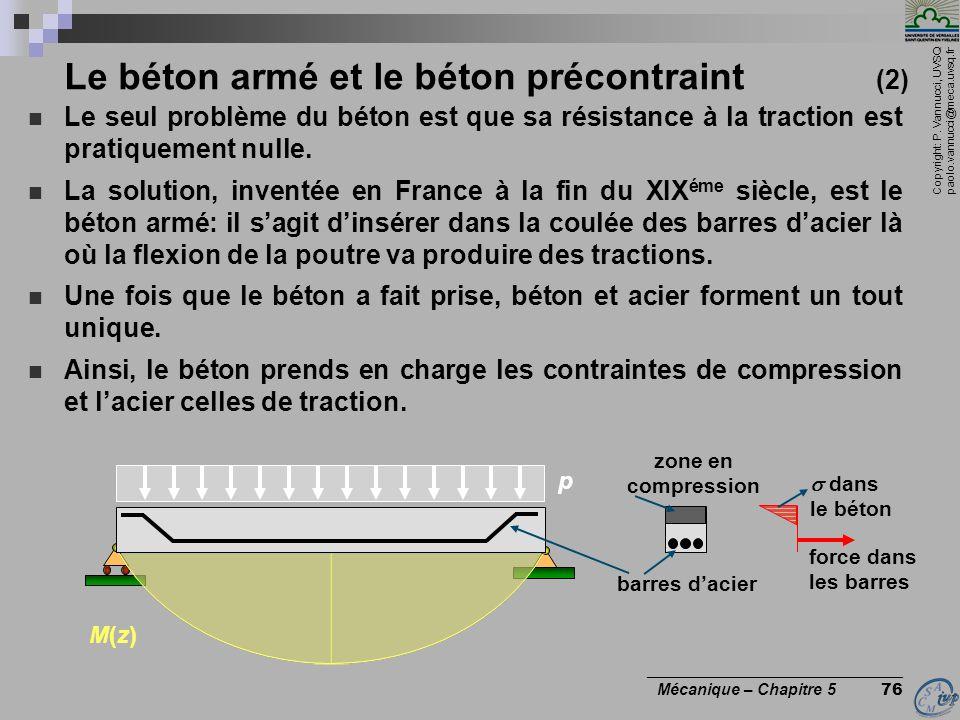 Le béton armé et le béton précontraint (2)