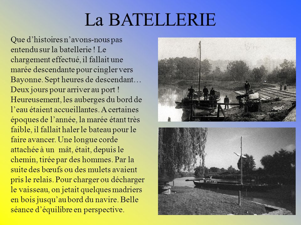 La BATELLERIE