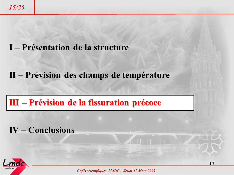 I – Présentation de la structure
