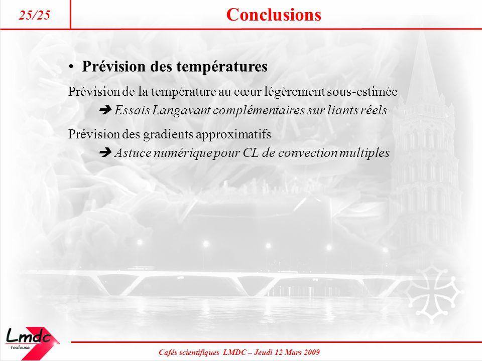 Prévision des températures