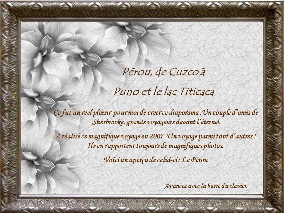 Pérou, de Cuzco à Puno et le lac Titicaca