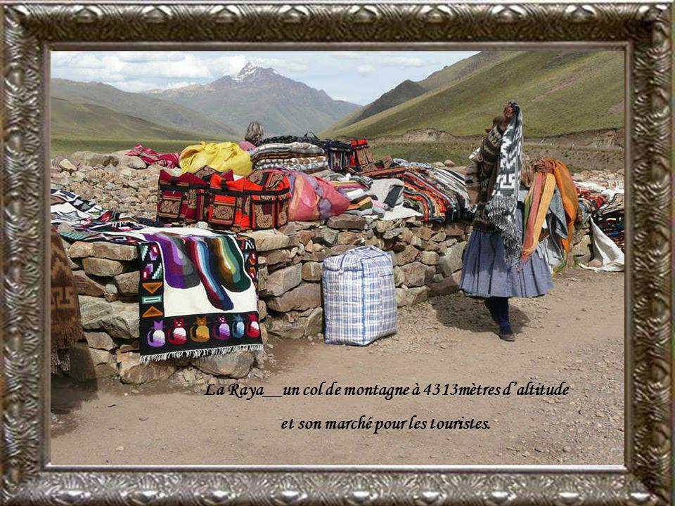 La Raya__un col de montagne à 4313mètres d'altitude