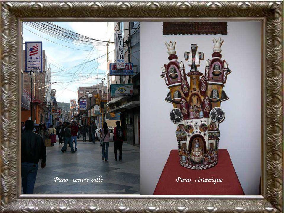 Puno_centre ville Puno_céramique