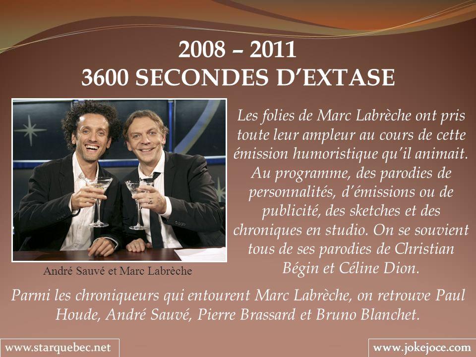 André Sauvé et Marc Labrèche