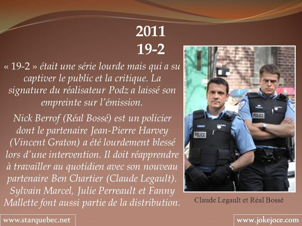 Claude Legault et Réal Bossé