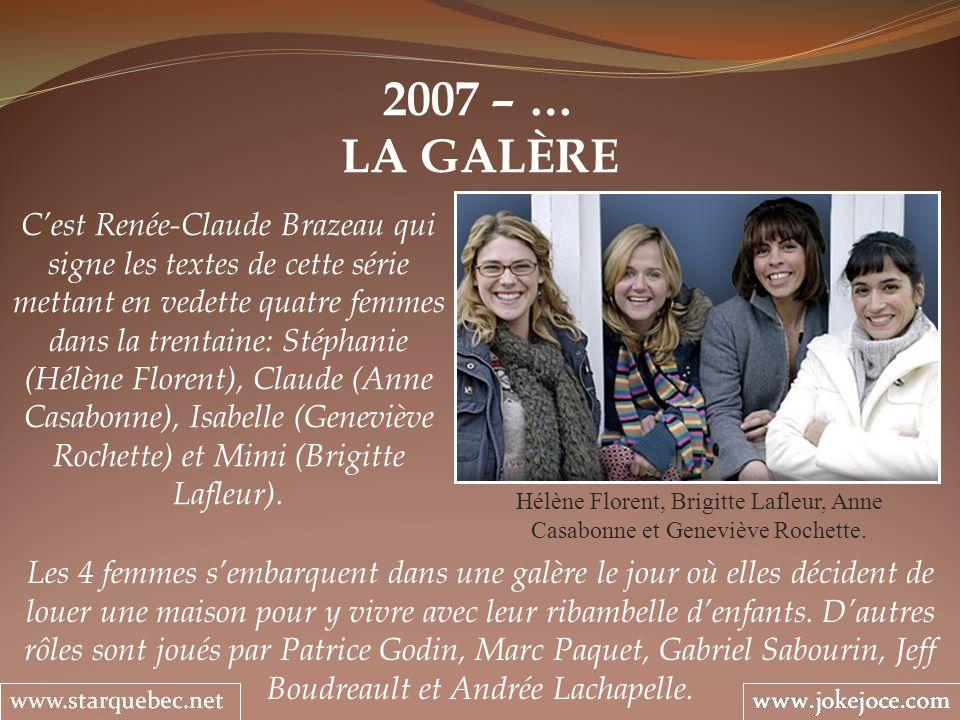 2007 – … LA GALÈRE.