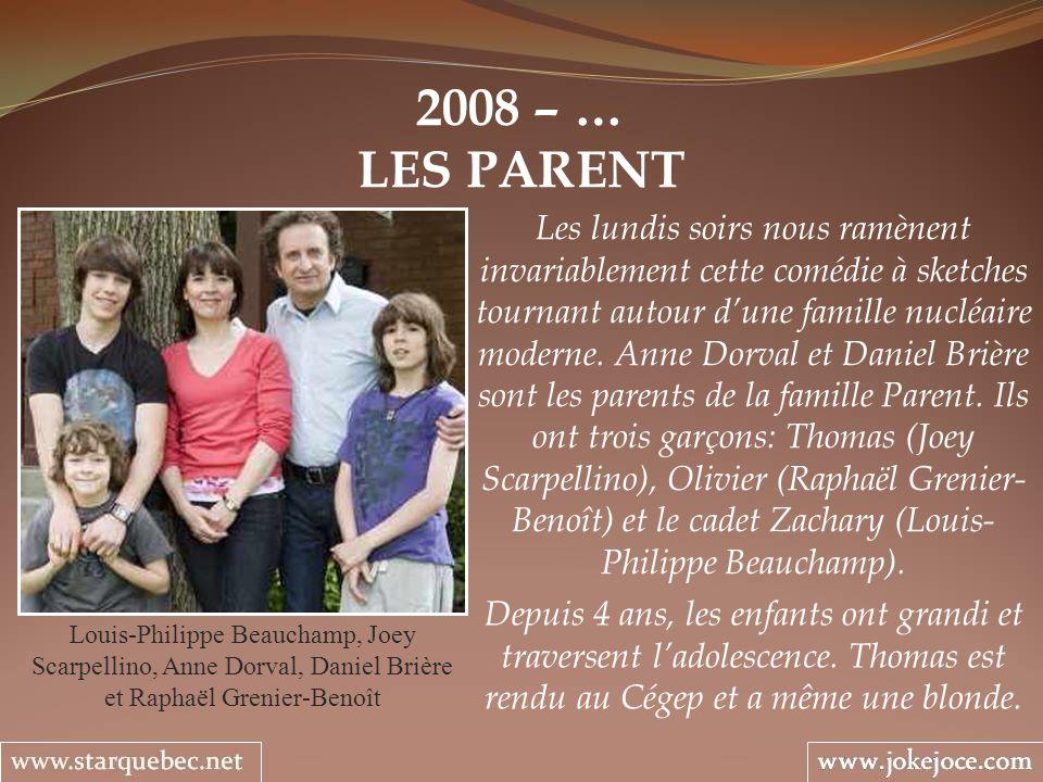 2008 – … LES PARENT.
