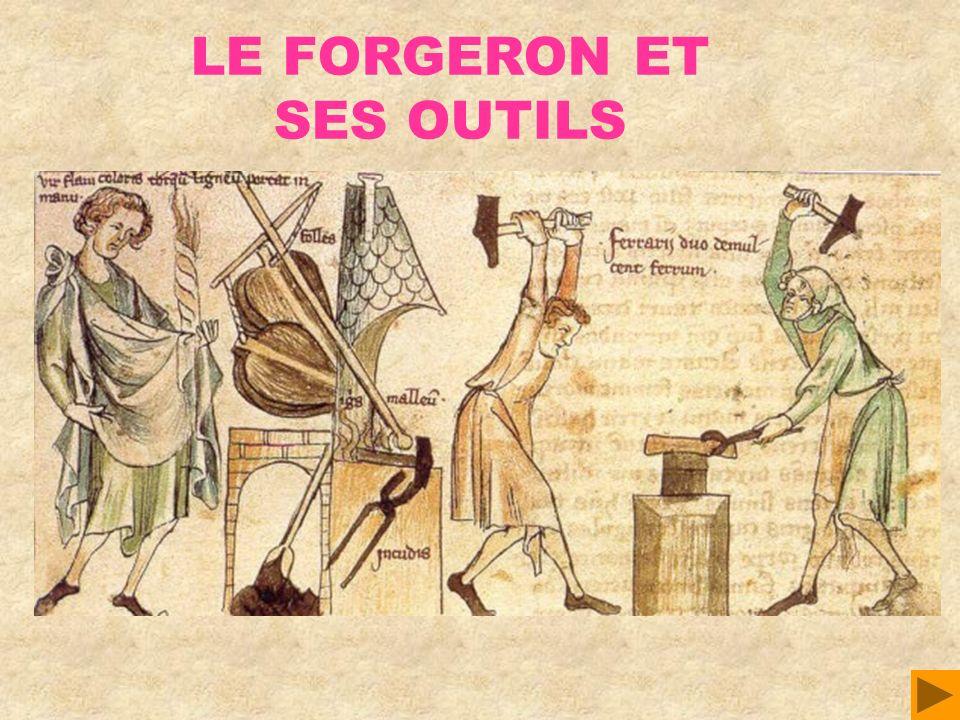 LE FORGERON ET SES OUTILS
