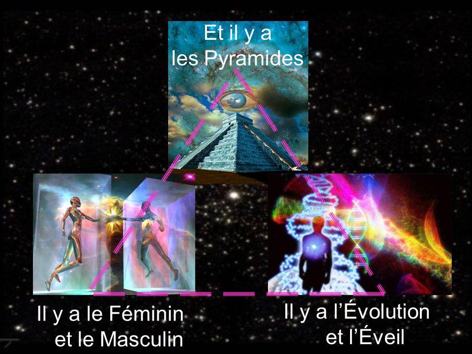 Il y a le Féminin et le Masculin Il y a l'Évolution et l'Éveil