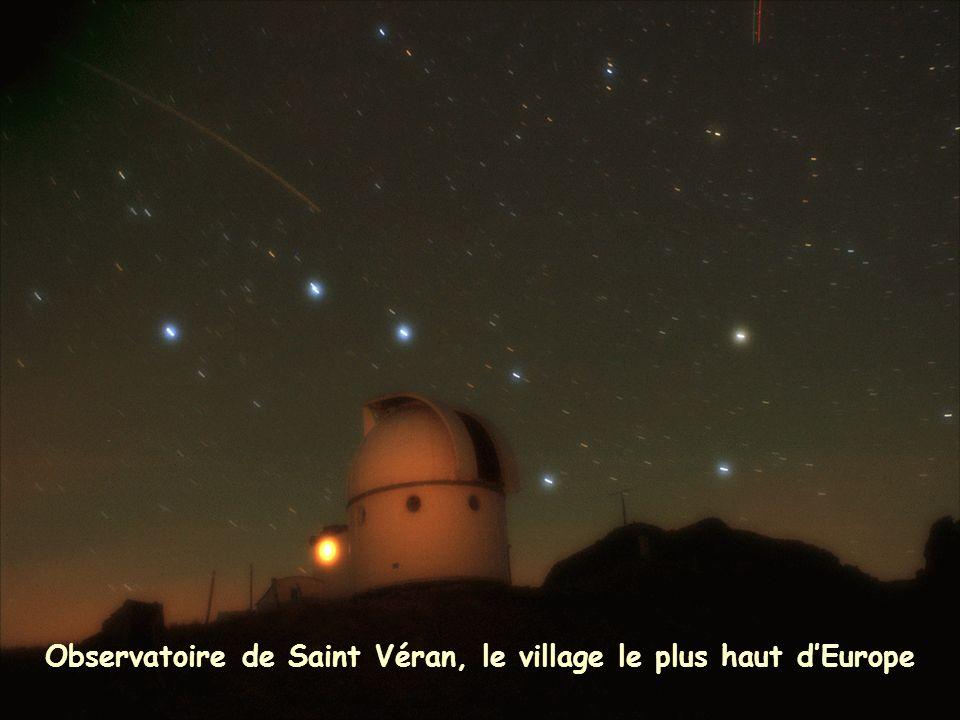Observatoire de Saint Véran, le village le plus haut d'Europe