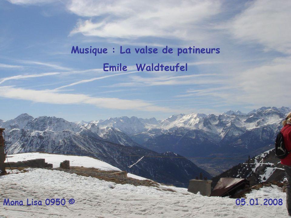 Musique : La valse de patineurs