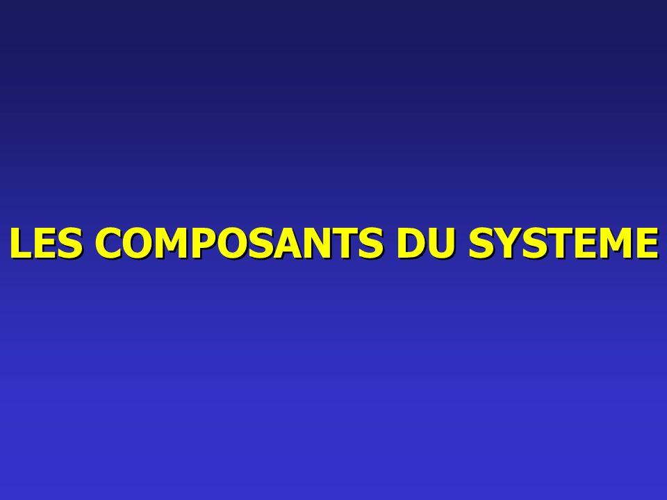 LES COMPOSANTS DU SYSTEME