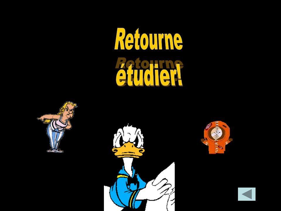 Retourne étudier!