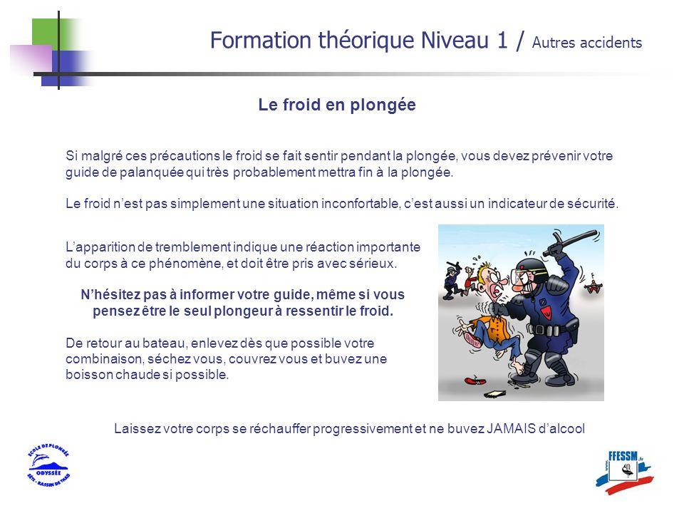 Formation théorique Niveau 1 / Autres accidents