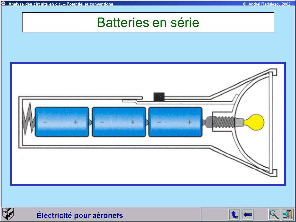 Batteries en série