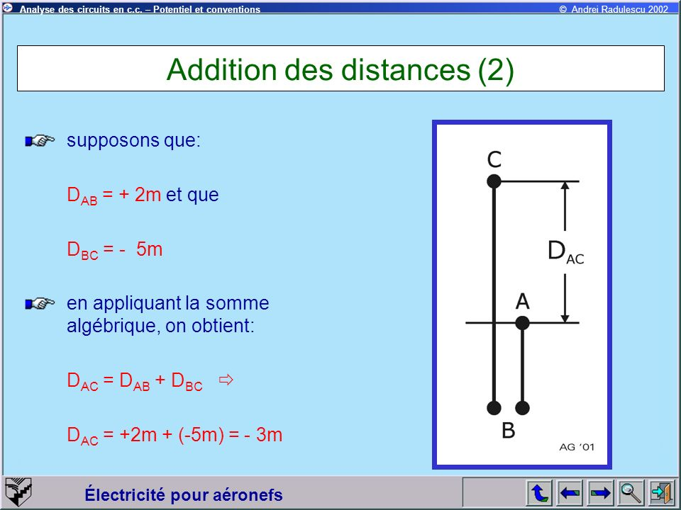 Addition des distances (2)