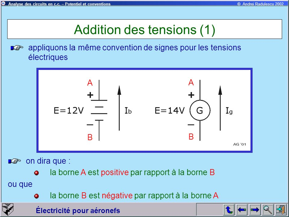 Addition des tensions (1)