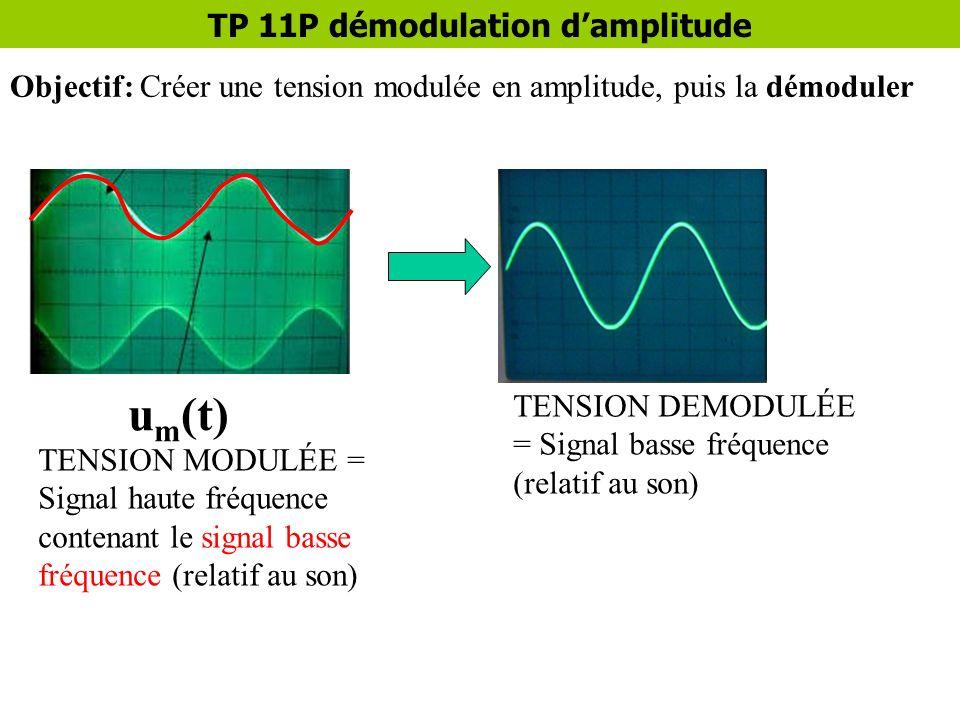 TP 11P démodulation d'amplitude