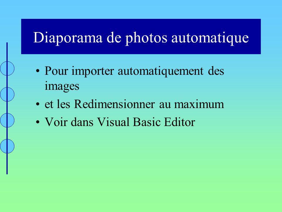 Diaporama de photos automatique