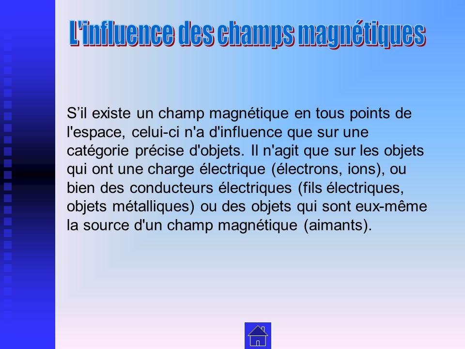 L influence des champs magnétiques