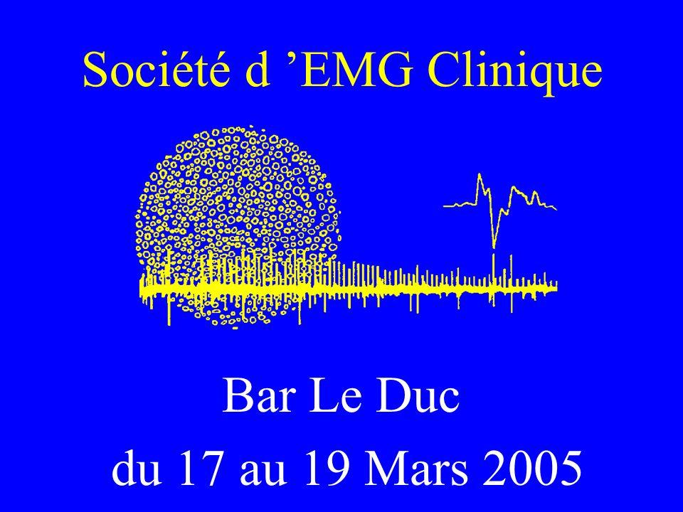 Société d 'EMG Clinique