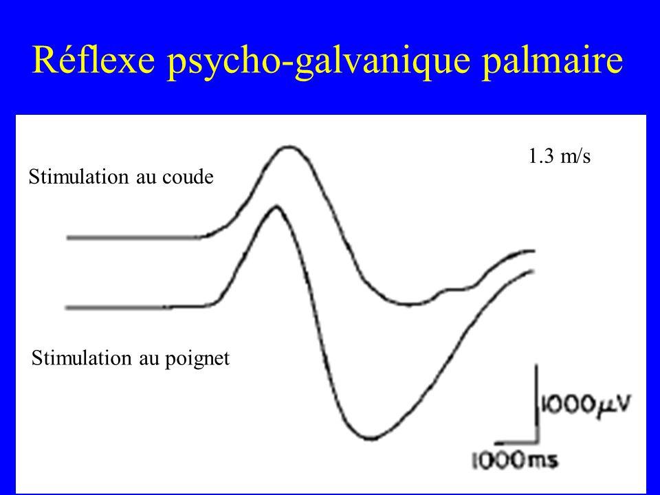Réflexe psycho-galvanique palmaire
