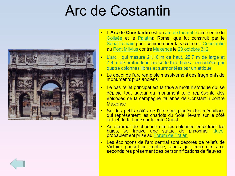 Arc de Costantin