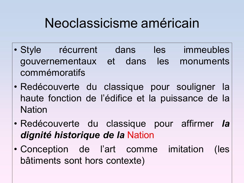 Neoclassicisme américain