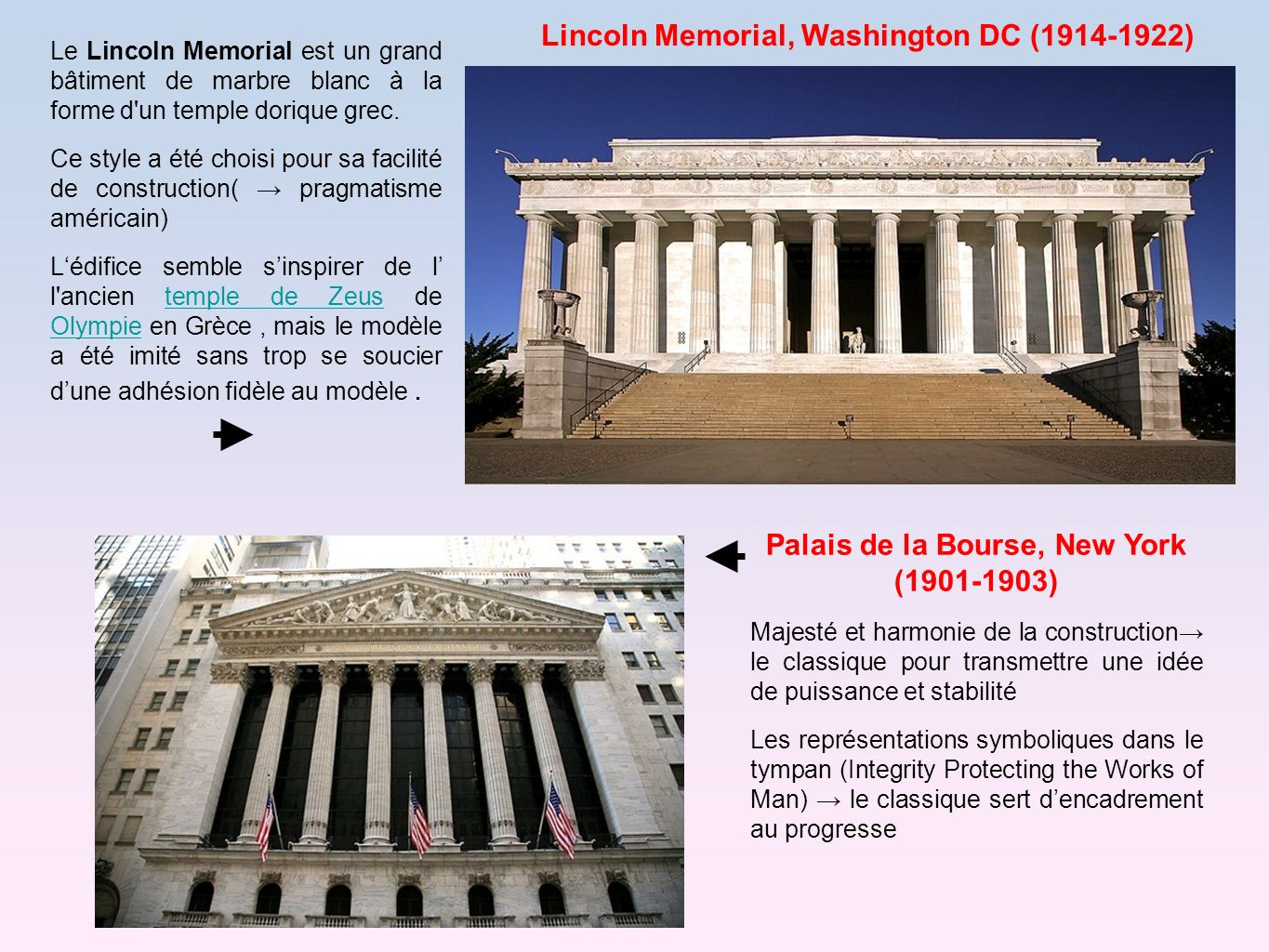 Lincoln Memorial, Washington DC (1914-1922)