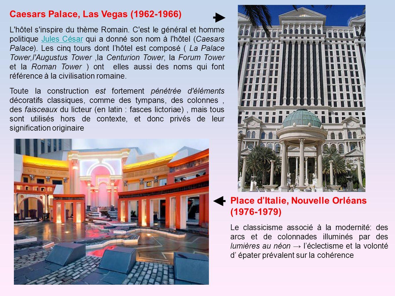 Caesars Palace, Las Vegas (1962-1966)