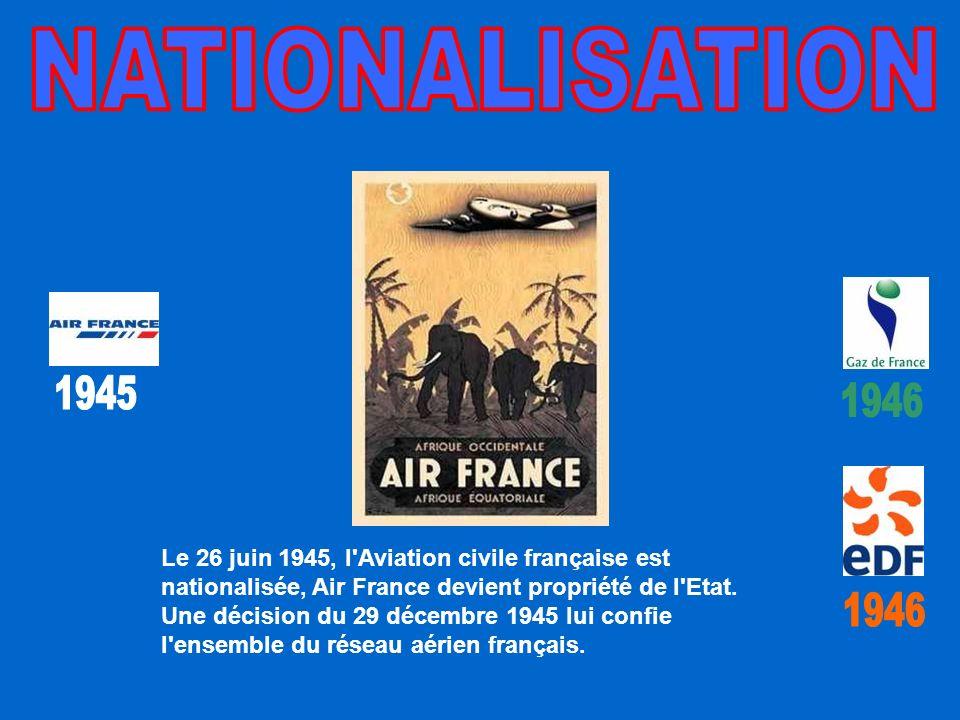 NATIONALISATION 1945. 1946.
