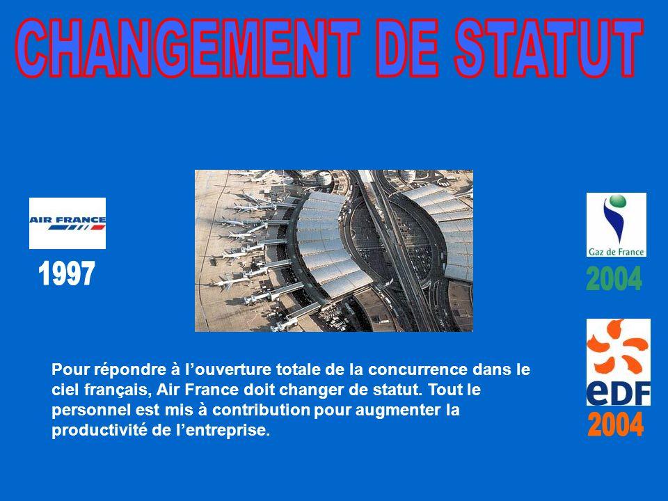 CHANGEMENT DE STATUT 1997. 2004.