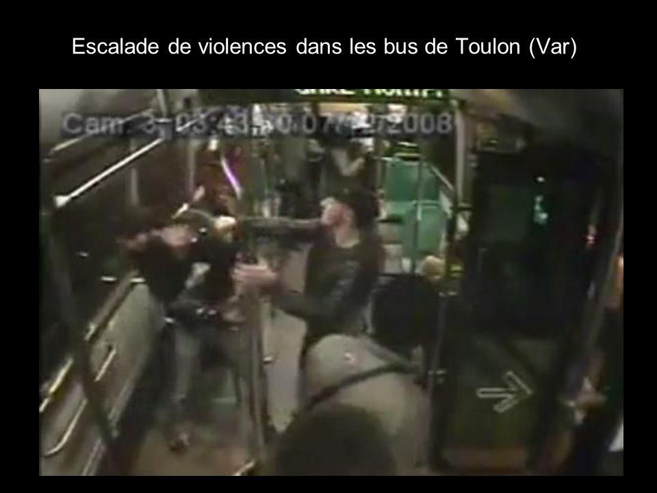 Escalade de violences dans les bus de Toulon (Var)