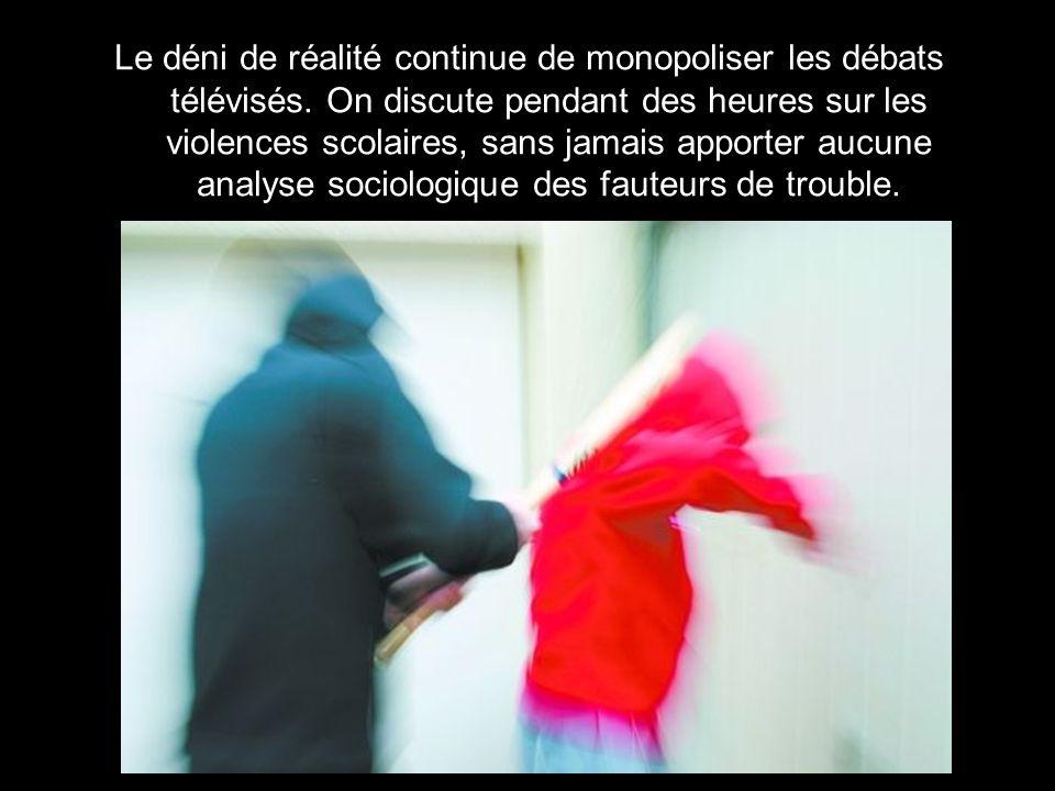 Le déni de réalité continue de monopoliser les débats télévisés