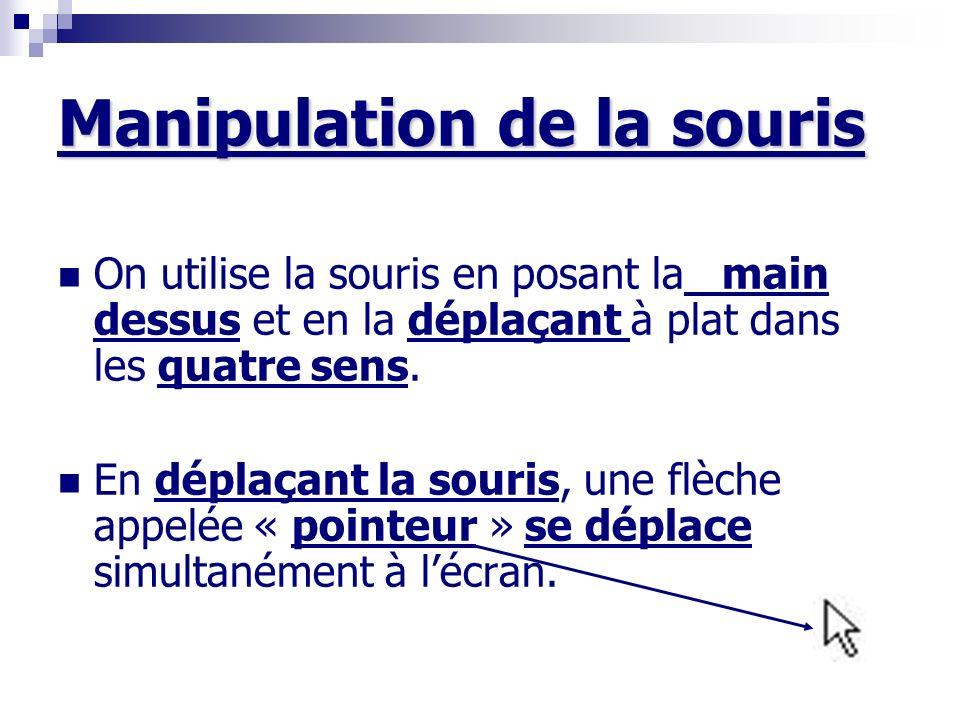 Manipulation de la souris