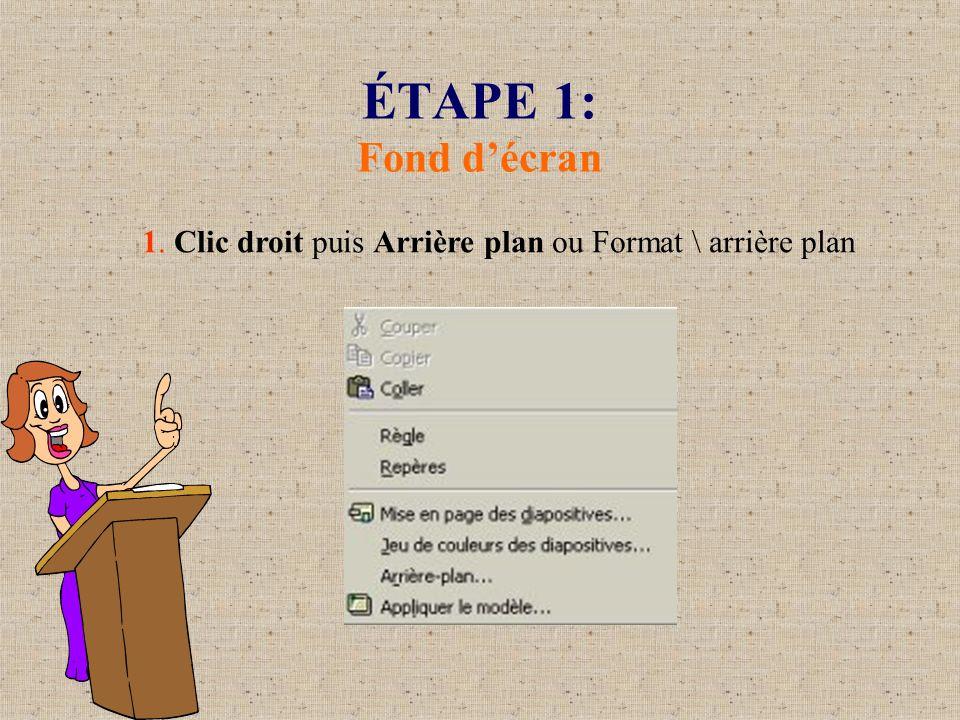 Concevoir un diaporama avec power point ppt video online t l charger - Arriere plan open office writer ...