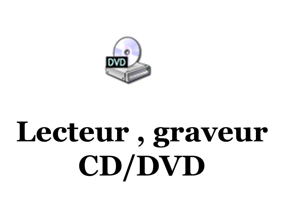 Lecteur , graveur CD/DVD