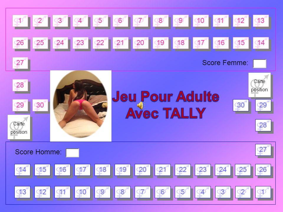 Jeu Pour Adulte Avec TALLY