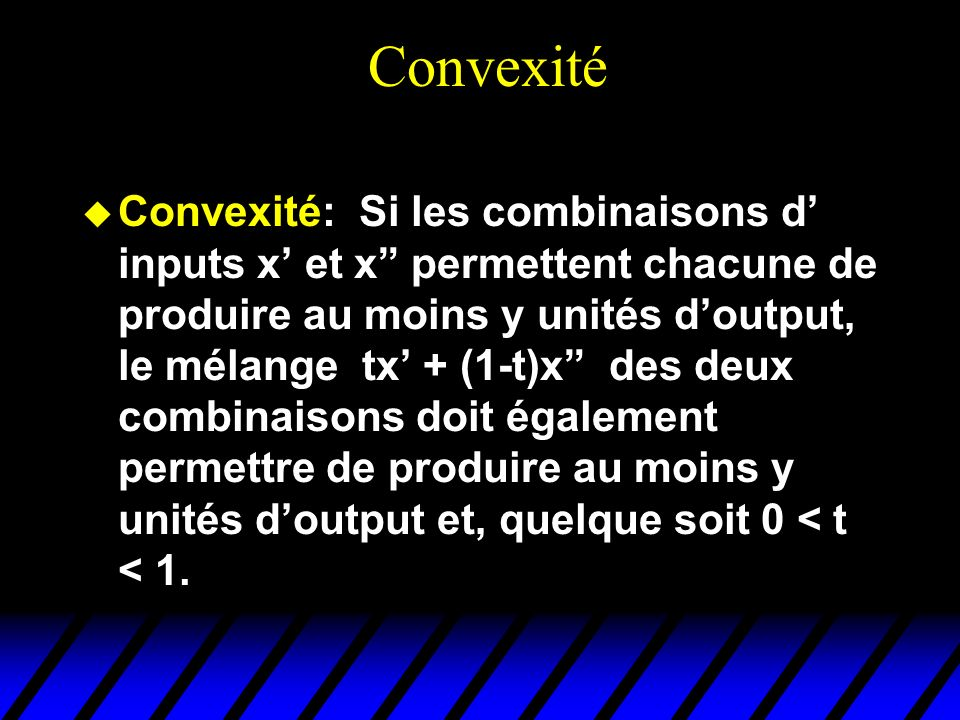 Convexité
