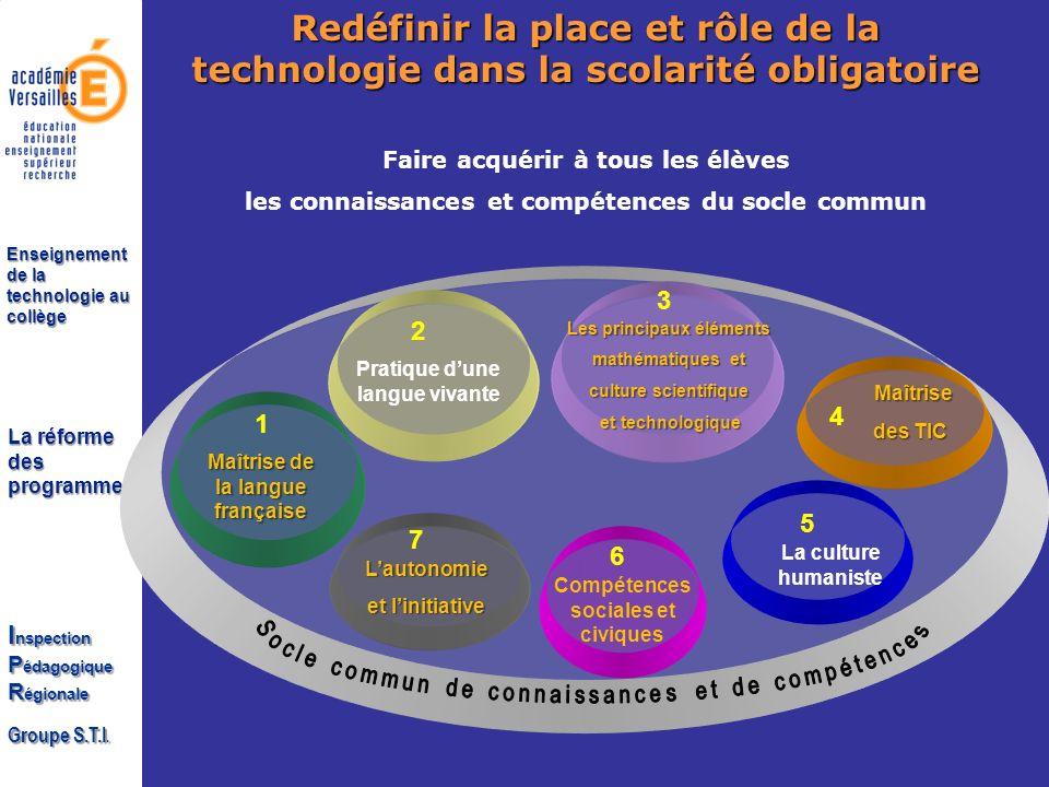 Redéfinir la place et rôle de la technologie dans la scolarité obligatoire