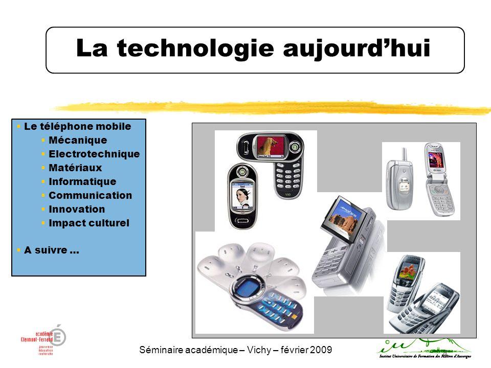 La technologie aujourd'hui