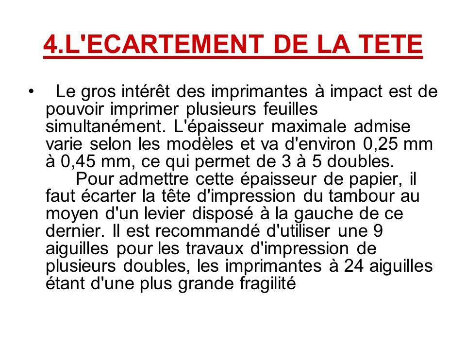 4.L ECARTEMENT DE LA TETE