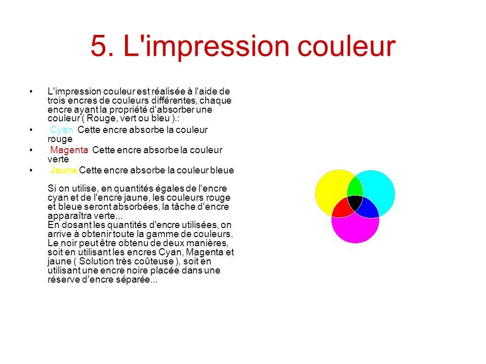 5. L impression couleur