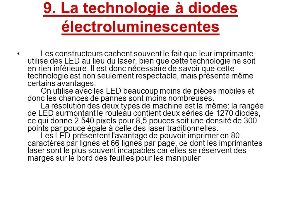 9. La technologie à diodes électroluminescentes