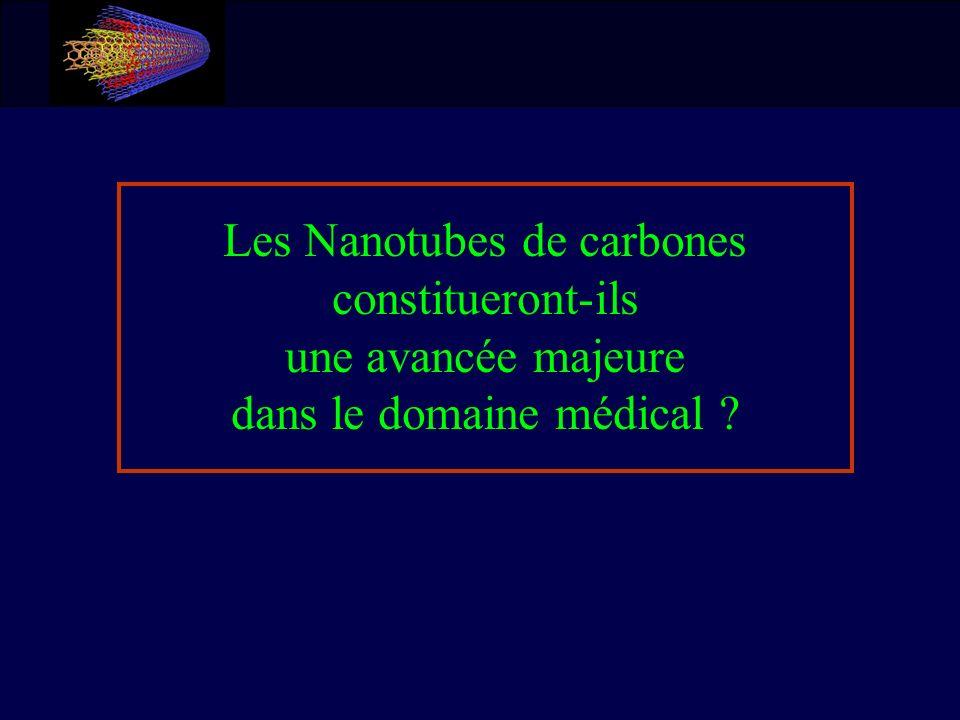 Les Nanotubes de carbones constitueront-ils une avancée majeure