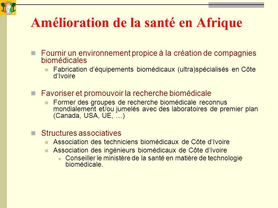 Amélioration de la santé en Afrique