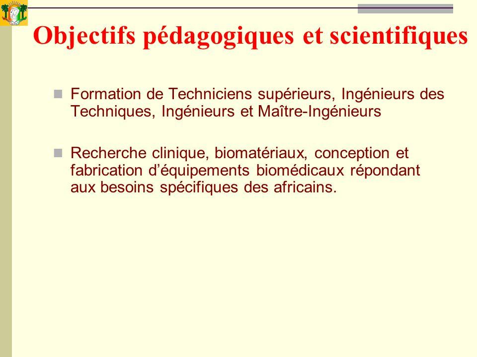 Objectifs pédagogiques et scientifiques
